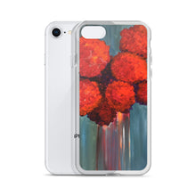Load image into Gallery viewer, Red Flowers - iPhone Case