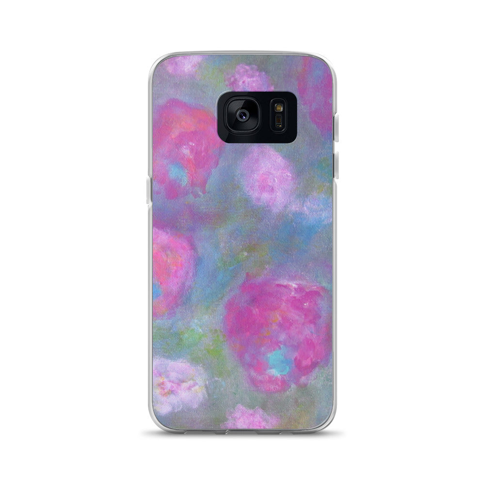 Shabby Chic Flower - Samsung Case