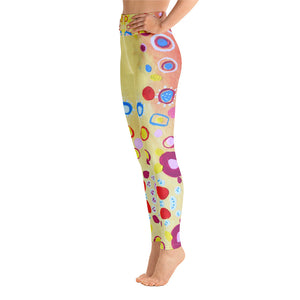 Summer Days - All-Over Print Yoga Leggings