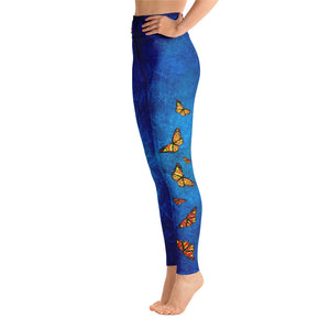 Butterflies from Heaven - Yoga Leggings