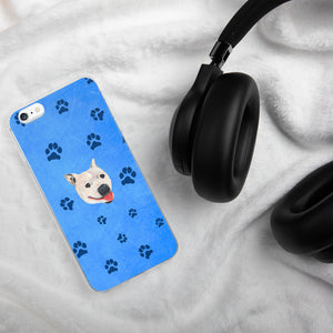 Pawsitive Change - Lily the Pitbull iPhone Case