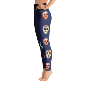 Day of the Dead - Yoga Leggings