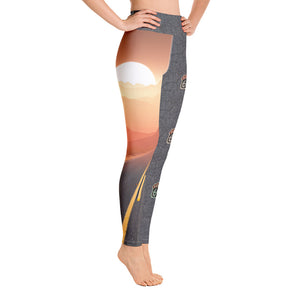 Route 66 - Yoga Leggings