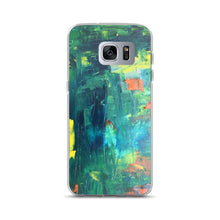 Load image into Gallery viewer, Abstract Koi Pond - Samsung Case