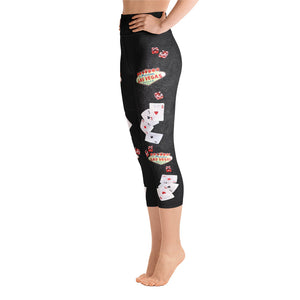 Las Vegas - Yoga Capri Leggings
