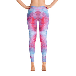 Red Spring Flowers - Leggings