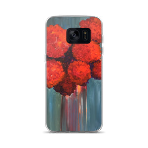 Red Flowers - Samsung Case