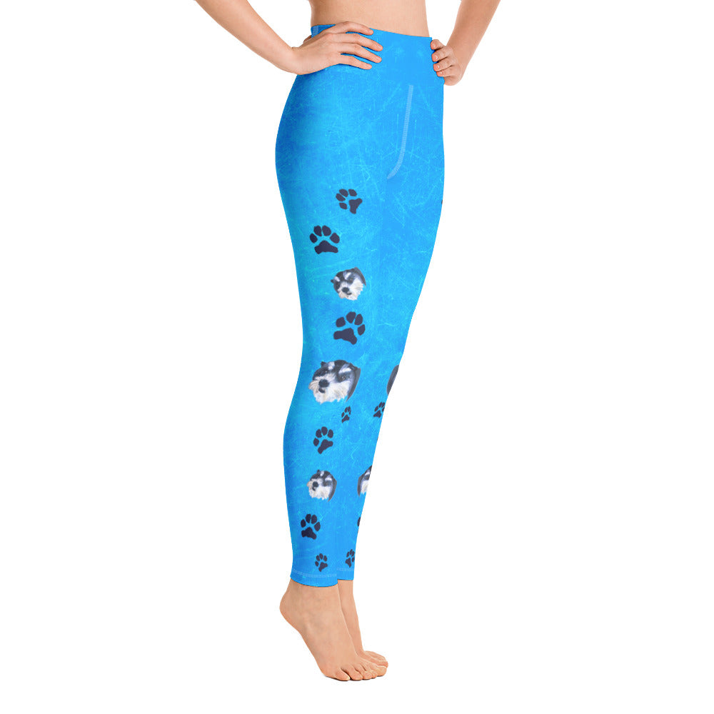 Pawsitive Change - Bella Yoga Leggings