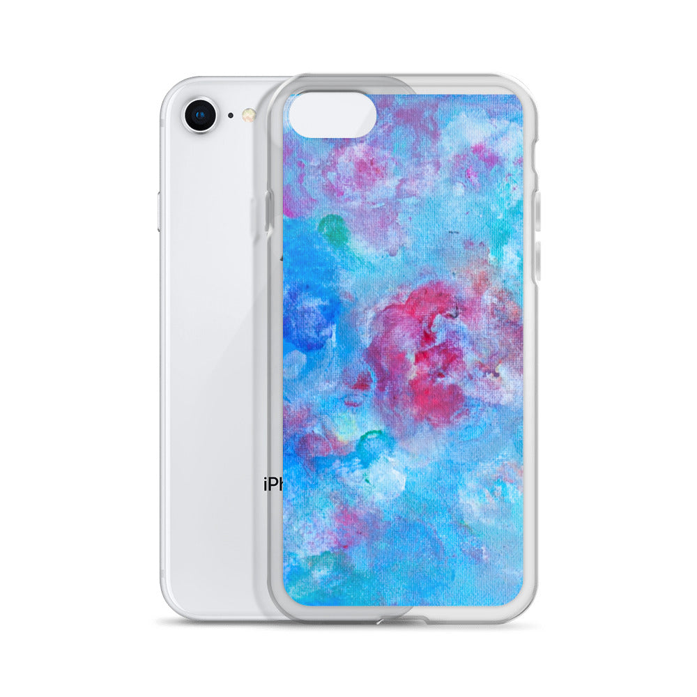 Blue Spring Flowers - iPhone Case