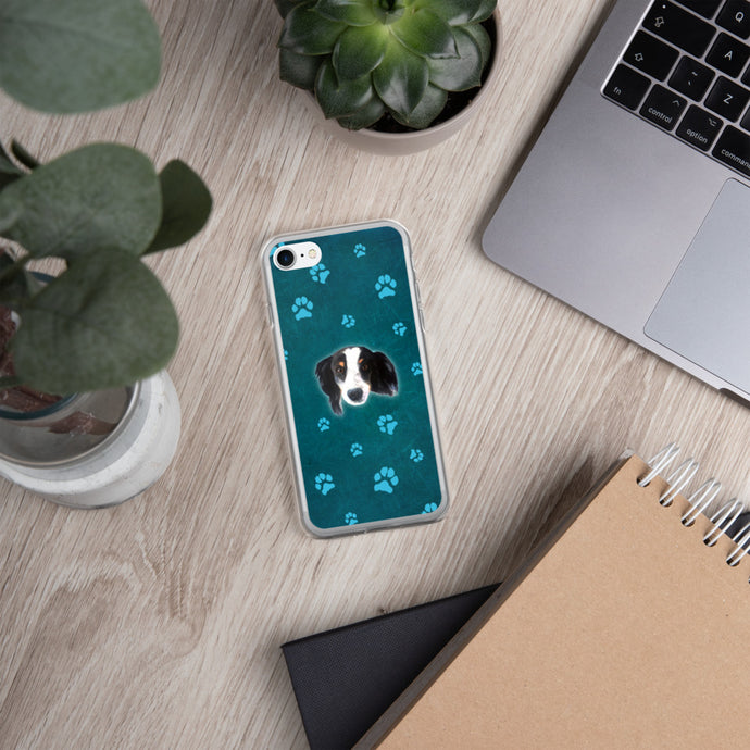 Pawsitive Change - Javi the Australian Sheppard iPhone Case
