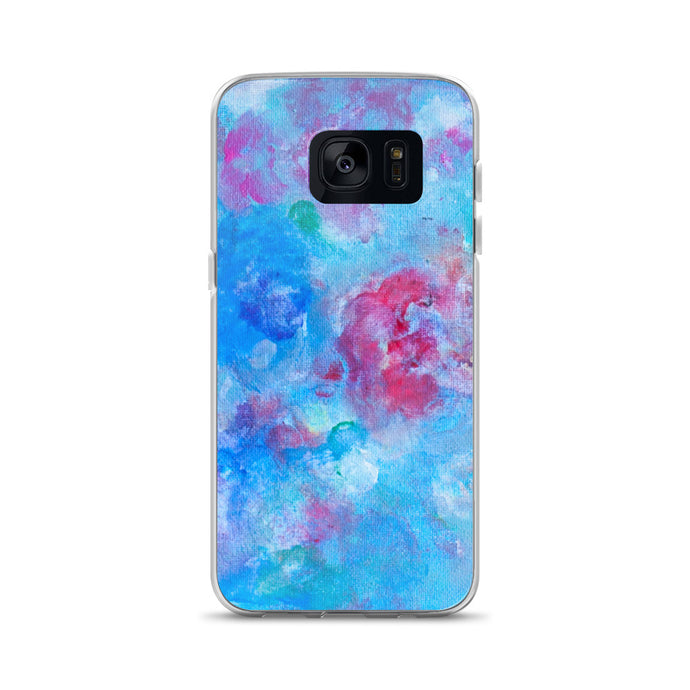 Blue Spring Flowers - Samsung Case