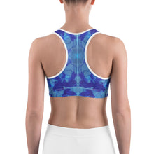 Load image into Gallery viewer, Blue Marble - Sports bra
