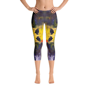 City Scape - Capri Leggings