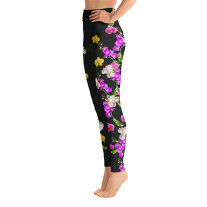 Ooh la la Orchids - Yoga Leggings