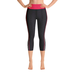 Serpentine - Yoga Capri Leggings
