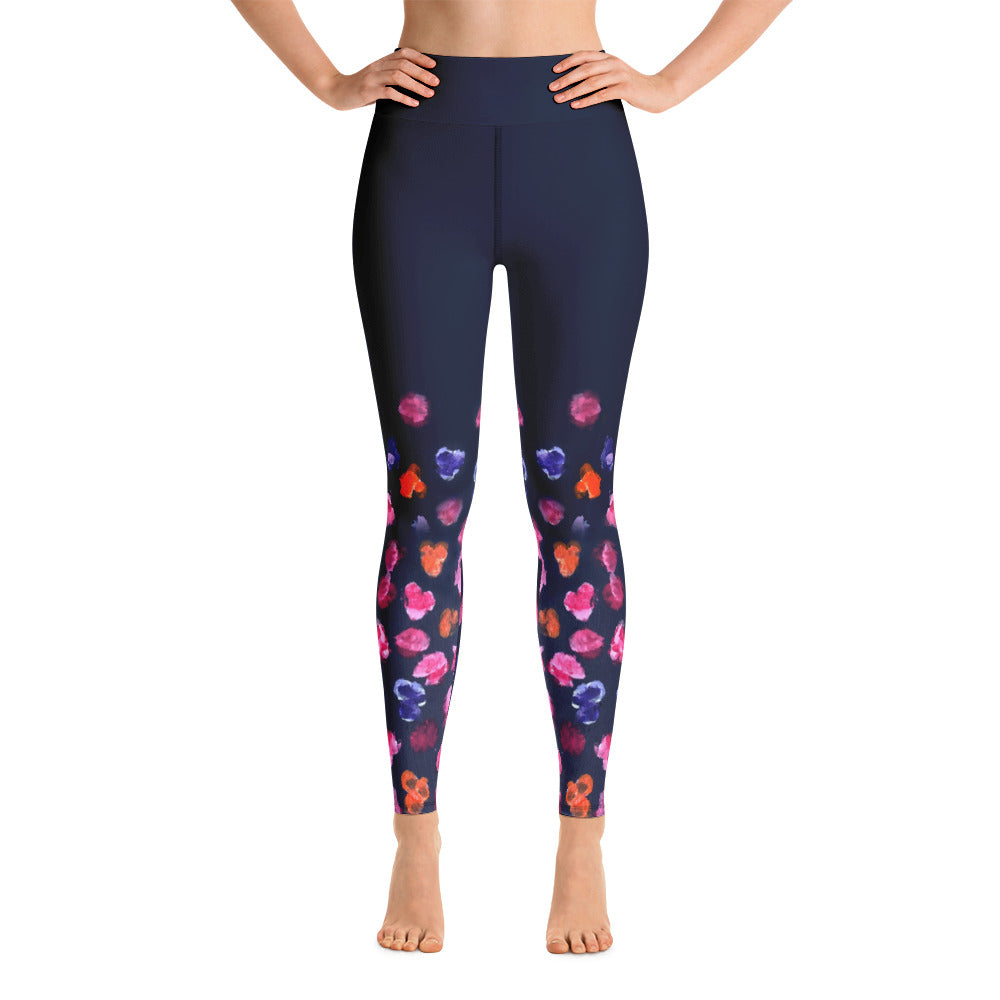 Pansies - Yoga Leggings