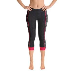 Serpentine - Capri Leggings