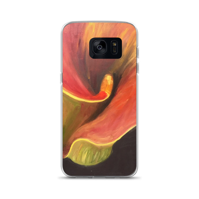 Abstract Lily - Samsung Case