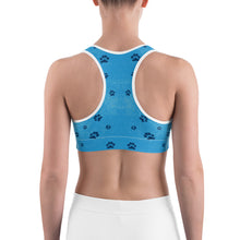 Load image into Gallery viewer, Faith the Dog - Pawsitive Change Program All-Over Print Sports Bra