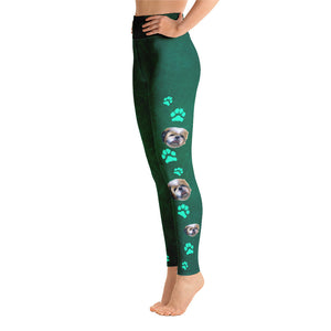 Pawsitive Change Shih Tzu Love - Yoga Leggings