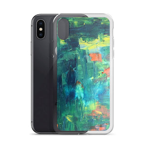 Abstract Koi Pond - iPhone Case