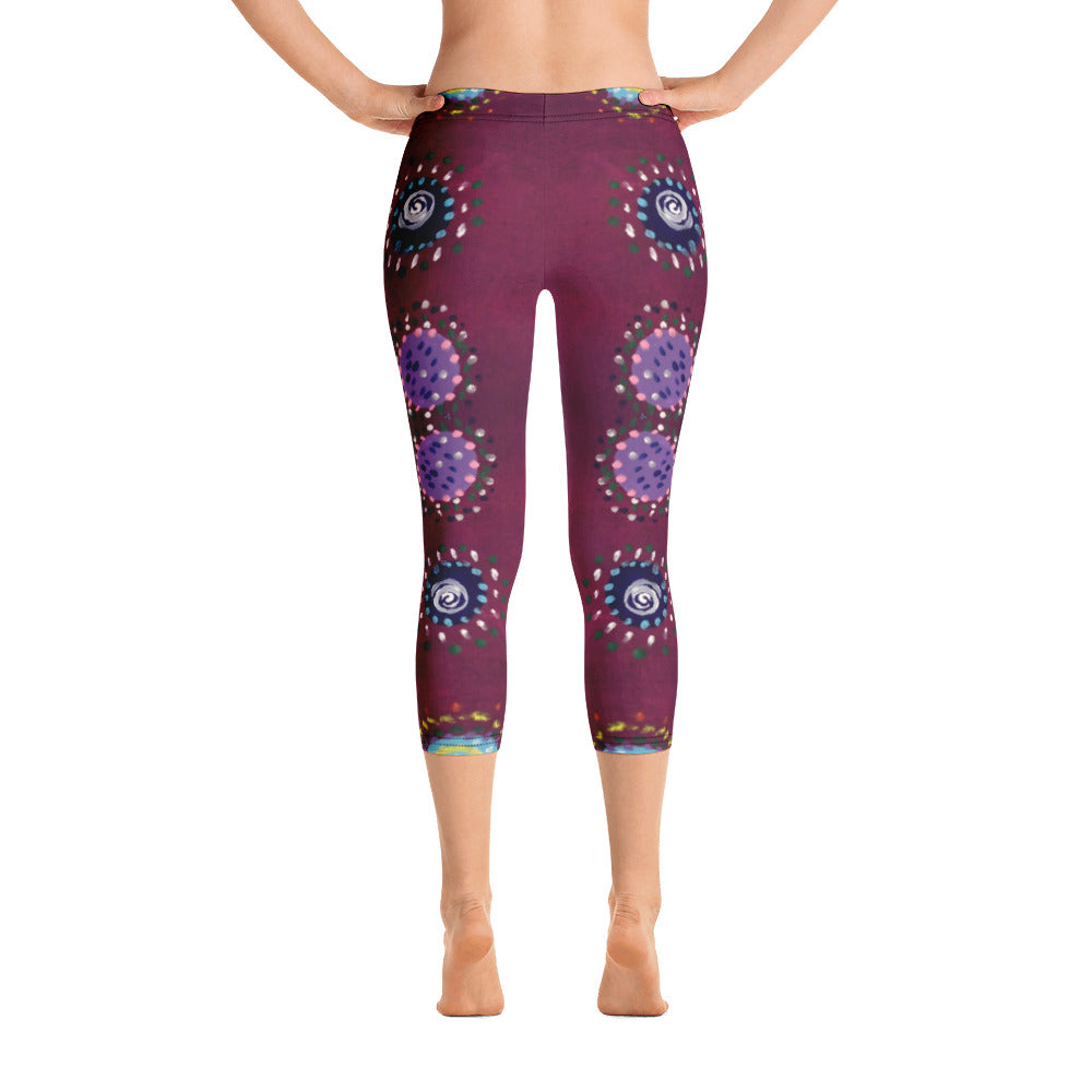 Aborigine - Capri Leggings