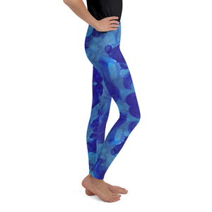 Blue Marble - Youth Leggings