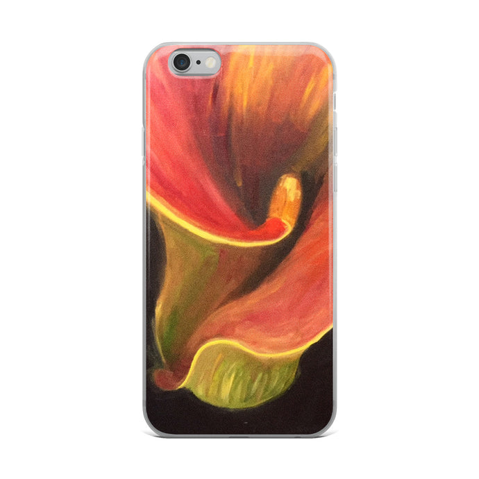 Abstract Lily - iPhone Case
