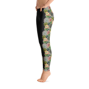 Succulent Bloom - Leggings