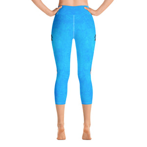 Pawsitive Change - Bella Yoga Capri Leggings