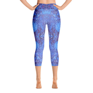 Love and Joy - Yoga Capri Leggings