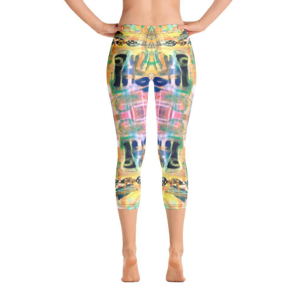 Happiness - Capri Leggings