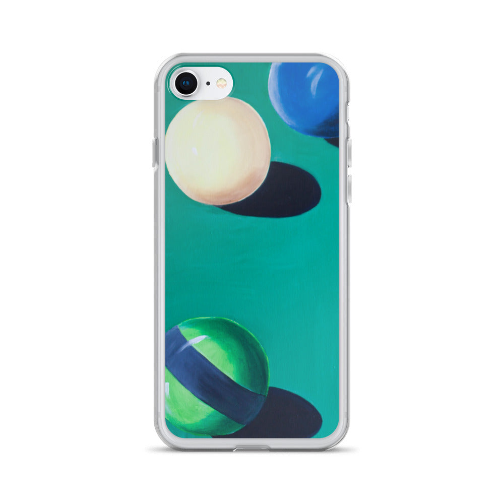 Cue Ball - iPhone Case