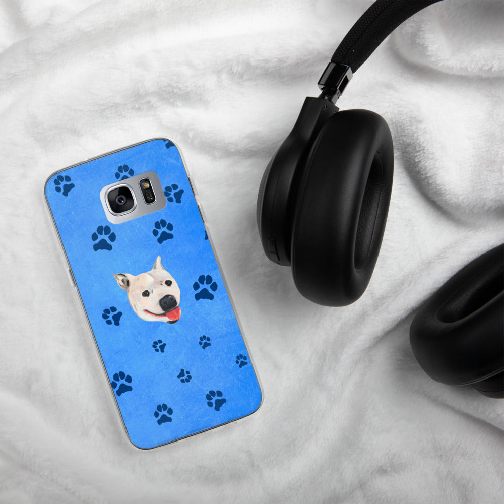 Pawsitive Change - Lily the Pitbull Samsung Case