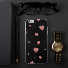 Load image into Gallery viewer, Confetti Hearts - iPhone Case