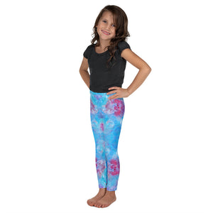 Blue Spring Flowers - Kid's Leggings