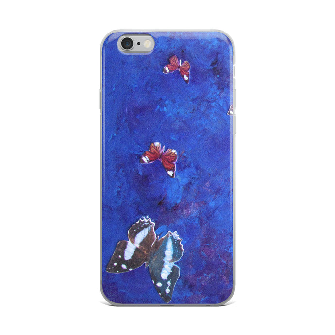 Butterflies All Around - iPhone Case