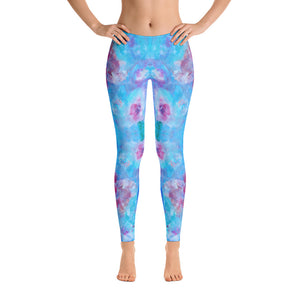 Blue Spring Flowers - Leggings