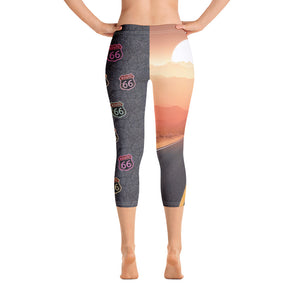 Route 66 - Capri Leggings