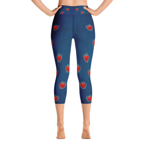 Cupid - All-Over Print Yoga Capri Leggings