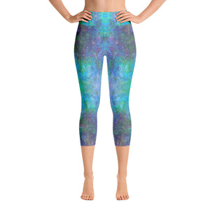 Sea Scape - Yoga Capri Leggings