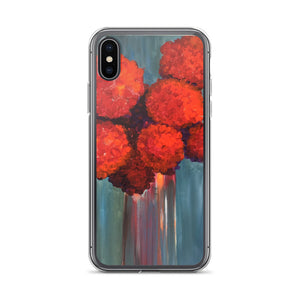 Red Flowers - iPhone Case