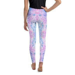 Pink Spring Flowers - Youth Leggings