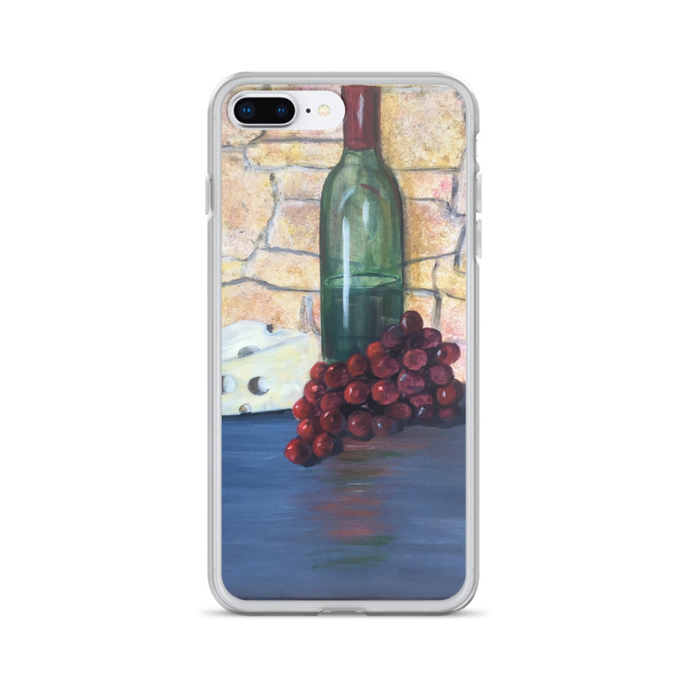 Red Grapes - iPhone Case