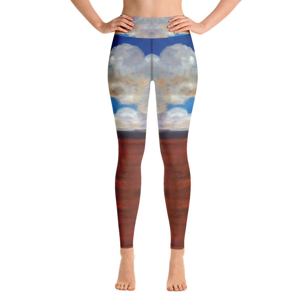 Cloudy Sky - Yoga Leggings