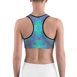 Sea Scape - Sports bra