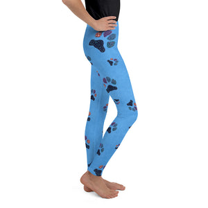 Paws - Youth Leggings