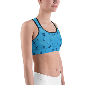 Faith the Dog - Pawsitive Change Program All-Over Print Sports Bra