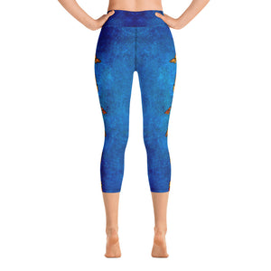 Butterflies from Heaven - Yoga Capri Leggings
