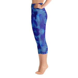 Blue Marble - Yoga Capri Leggings